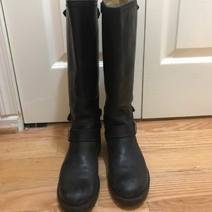 FRYE TALL LEATHER BOOTS SZ 7